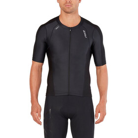 2XU Compression Maillot de triathlon à manches courtes Homme, black/black